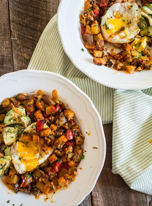 Roasted Veggie Breakfast Bowl