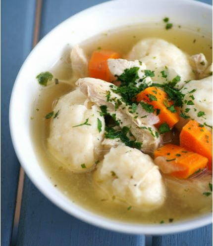 Classic Chicken and Dumpling Soup