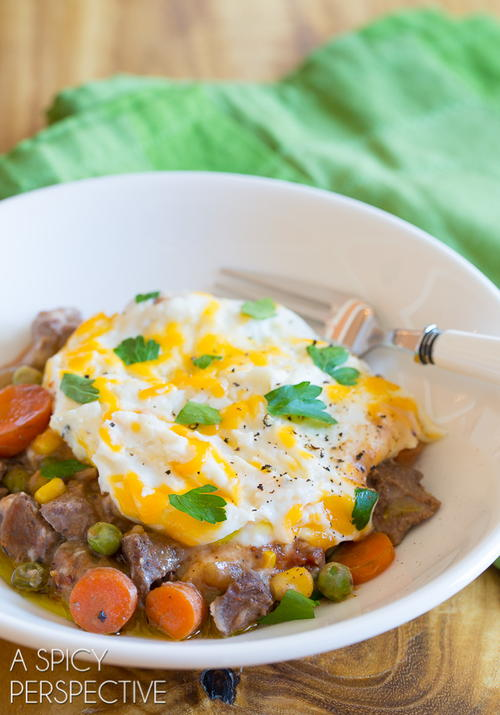 Dads Favorite Slow Cooker Shepherds Pie