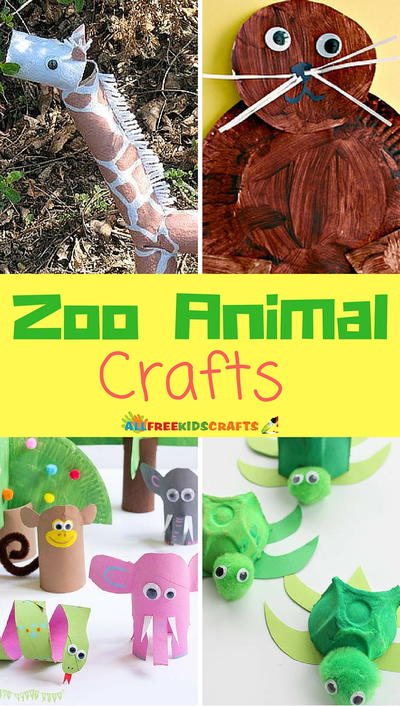 18 Zoo Animal Crafts For Kids Allfreekidscrafts Com