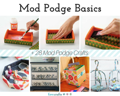 Does Mod Podge Dry Clear? + What To Do if It Doesn't