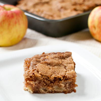 One-Bowl Apple Snack Bars