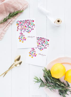 Floral Free Watercolor Printable