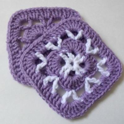 photo regarding Free Printable Crochet Granny Square Patterns titled 46 Simple Crochet Granny Sq. Types
