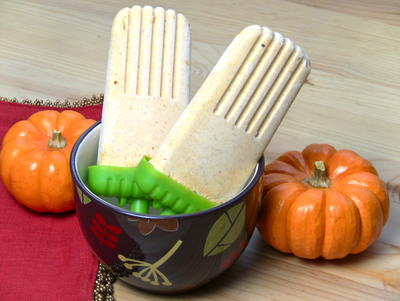 Pumpkin Pie Popsicles Recipe