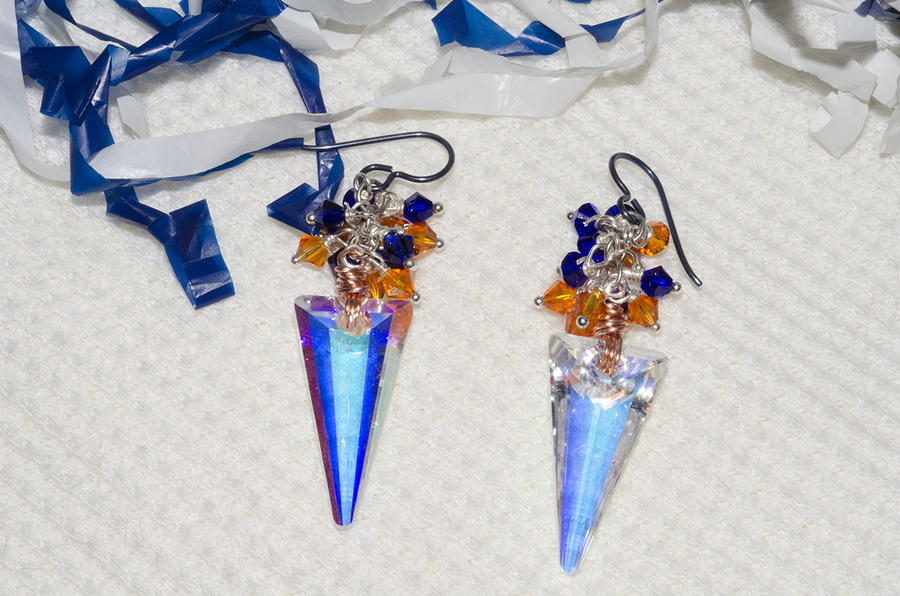 Game Day Spirit DIY Earrings