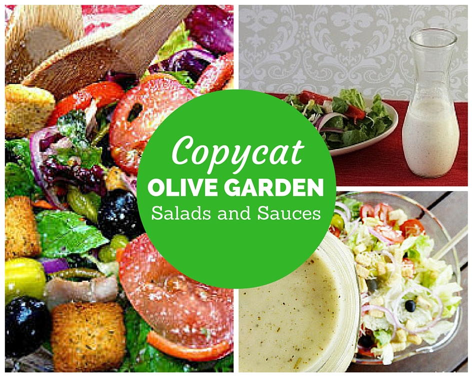 15 Copycat Olive Garden Salads And Sauces