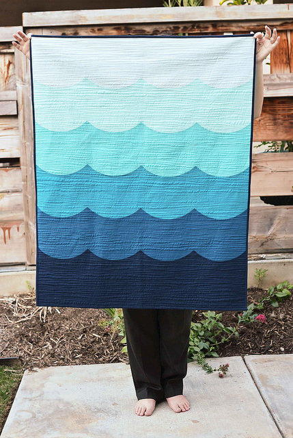 Deep Blue Sea Quilt