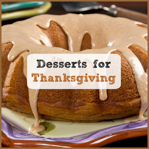 Desserts for Thanksgiving 8 Holiday Cake Recipes