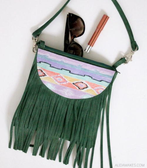 Phoebe Fringe Bag Tutorial
