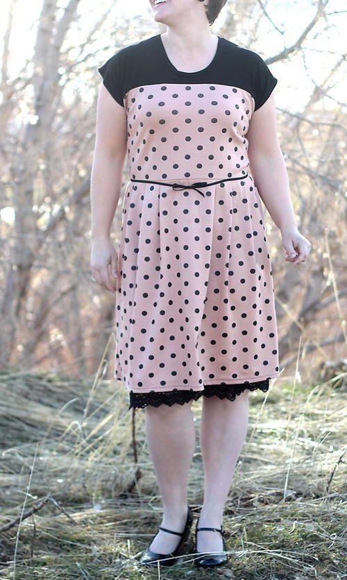 Simple T-Shirt Dress Pattern