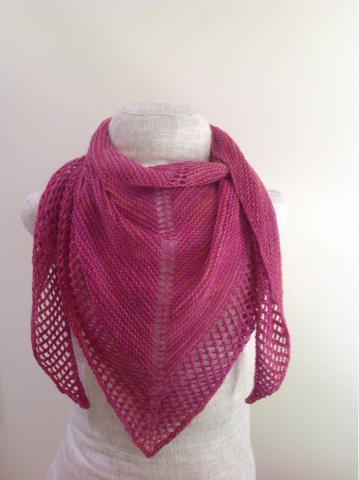 Blush Summer Shawl Pattern