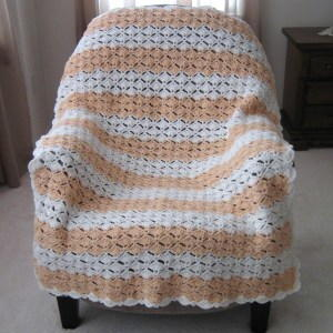 Peaches and Cream Afghan