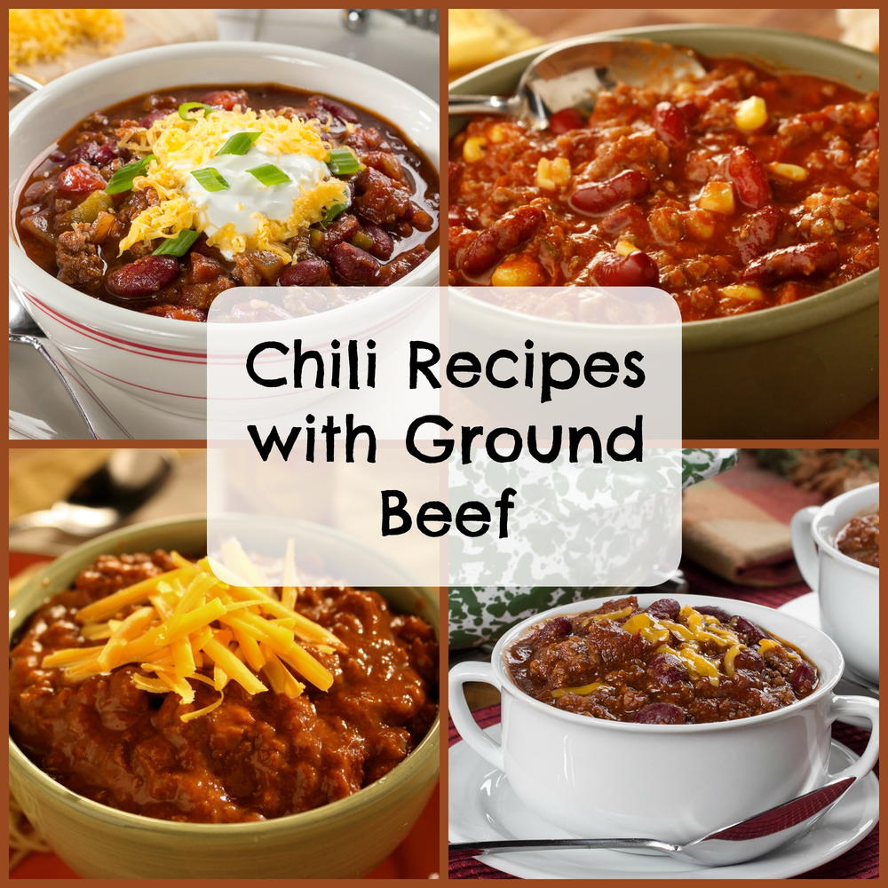 Easy Chili Recipes With Ground Beef