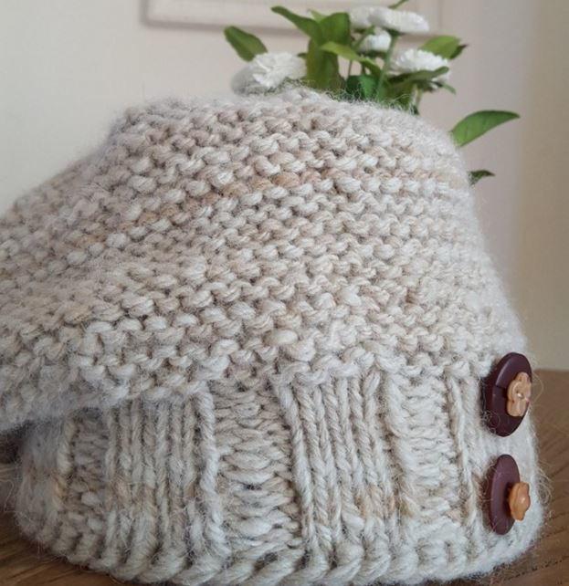 Arctic Alpaca Hat Pattern AllFreeKnitting.com