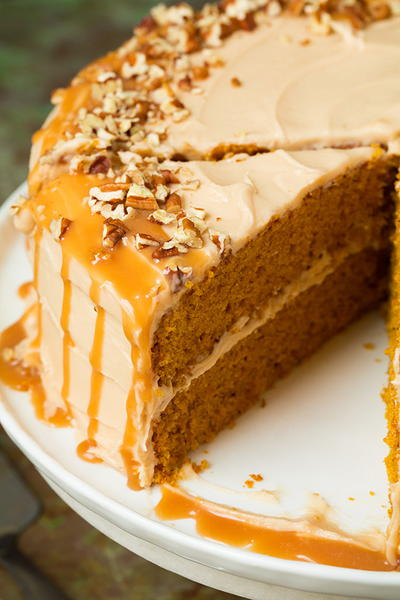Browned Butter Pumpkin Cake