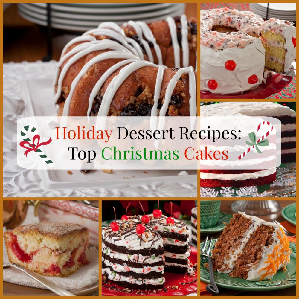 christmas recipes holiday dessert cakes menu recipe dinner ultimate parties mrfood