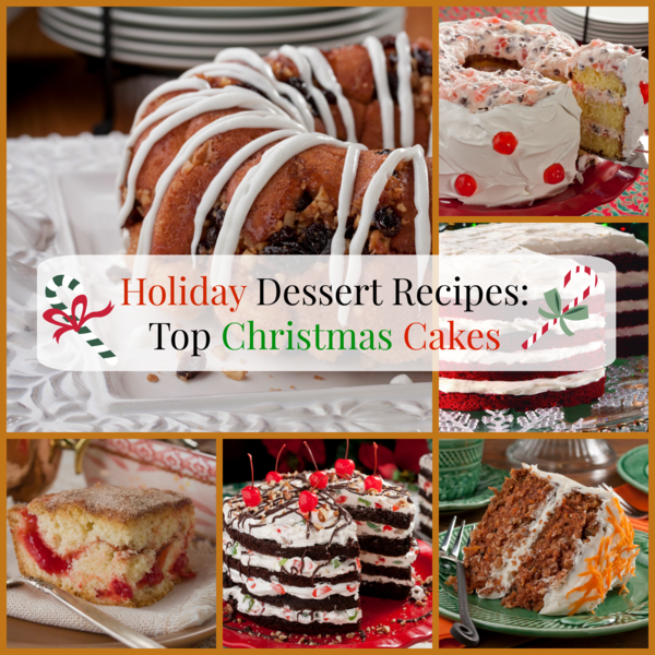 Christmas cakes desserts recipes