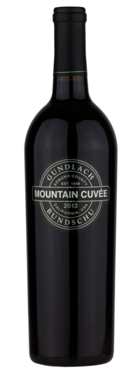 Gundlach Bundschu Mountain Cuvee Red 2013