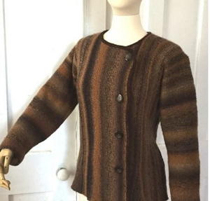 Autumn Elegance Knit Jacket