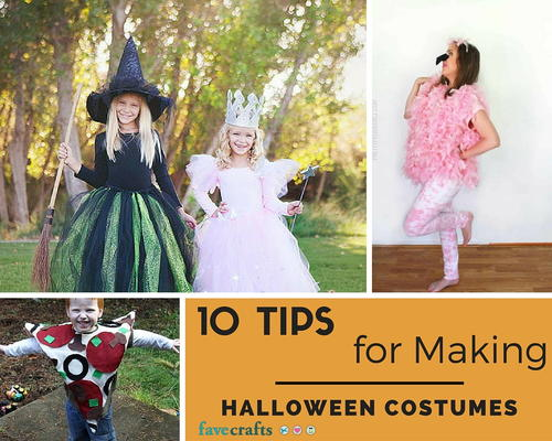 10 Tips for Making Halloween Costumes