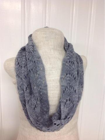 Dove Knitting Pattern : Dove Gray Cowl Pattern AllFreeKnitting.com