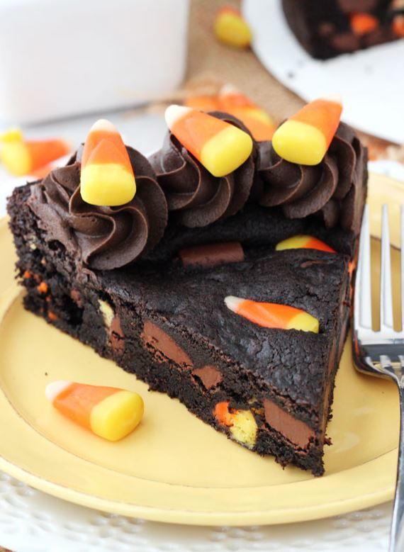 Candy Corn Chocolate Chip Cookie Cake Recipelion Com