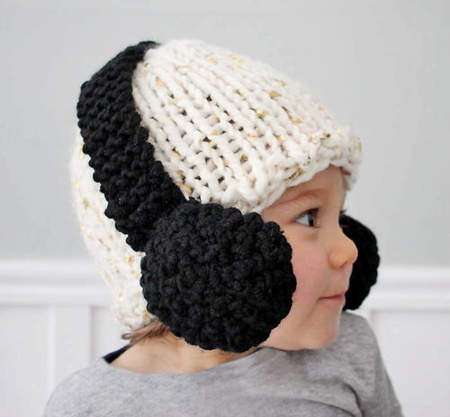 Headphones Baby Hat Pattern