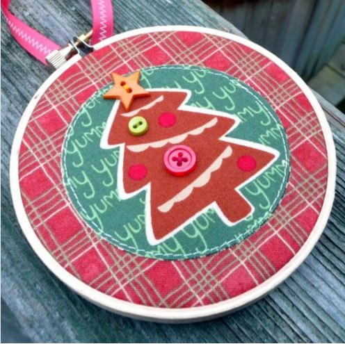 Embroidery Hoop Ornament