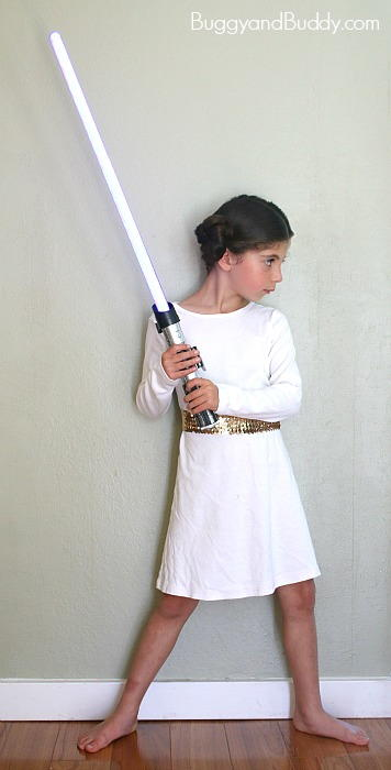 DIY Princess Leia Costume Idea