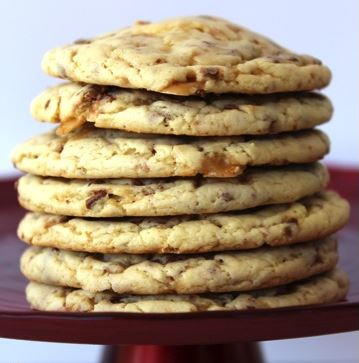 Heath Bar Cake Mix Cookies