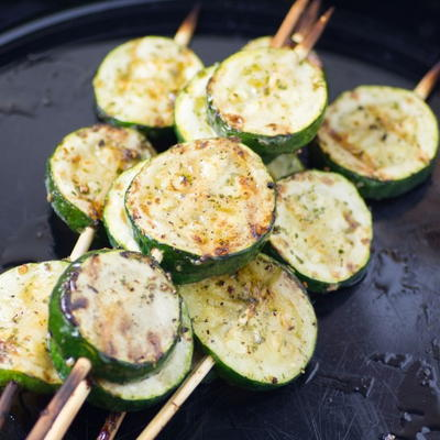 Grilled Zucchini Pops Recipe