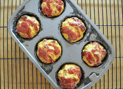 Meatloaf Cupcakes with A Secret Ingredient