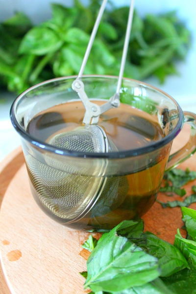 Summer Fresh Basil Tea Recipe