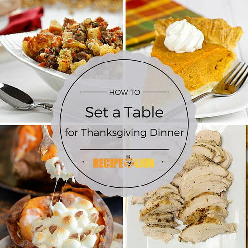 How to Set a Table for Thanksgiving Dinner
