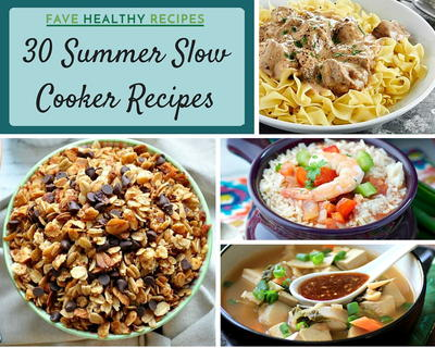 30 Summer Slow Cooker Recipes