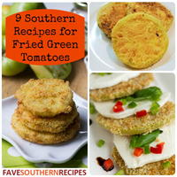 9 Southern Recipes for Fried Green Tomatoes