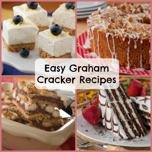 Easy graham cracker dessert recipes