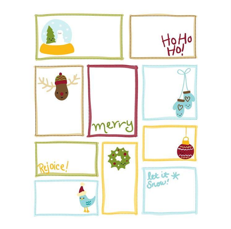 Cutesy Christmas Printable Gift