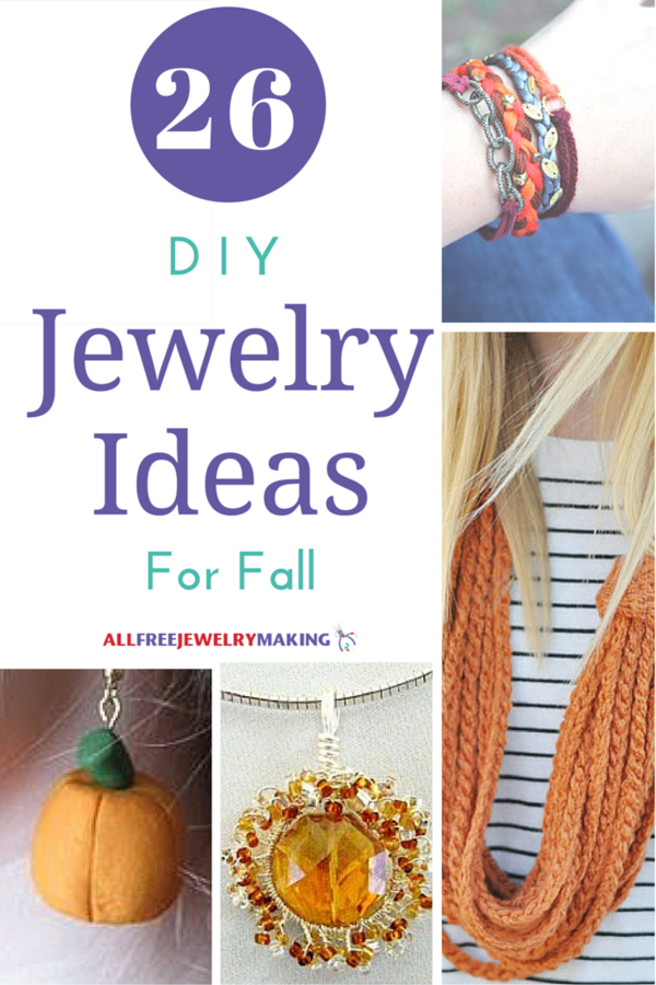 Fiery Fall Colors: 26 Orange, Yellow, and Red Jewelry Ideas