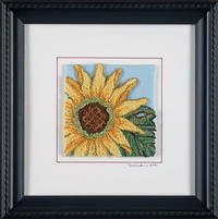 Pearl Cotton Sunflower