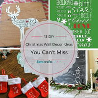 15 DIY Christmas Wall Decor Ideas You Can't Miss