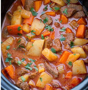 Slow Cooker Homemade Beef Stew