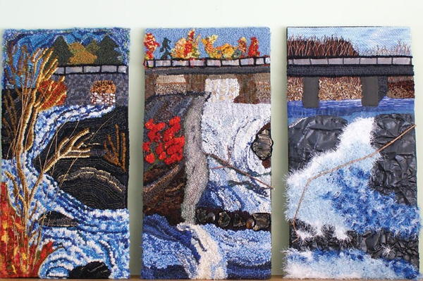 The Art Of Collaborative Rug Hooking