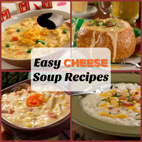 Easy cheese soup recipes