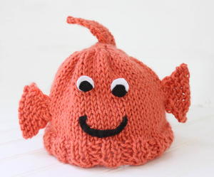 Goldfish Baby Hat Pattern