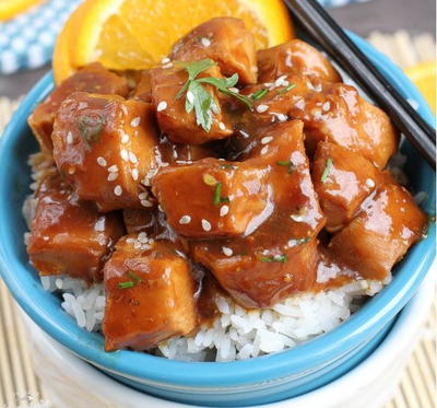 Tangy Slow Cooker Orange Chicken