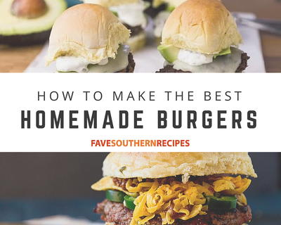 How to Make the Best Homemade Burgers