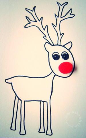 picture regarding Printable Reindeer called Totally free Printable Reindeer Playing cards