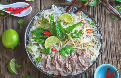 Pho Beef Slow Cooker Soup